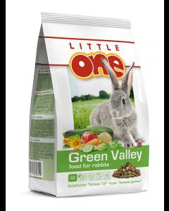 """Little One """"Зеленая долина"""". Корм из разнотравья для кроликов 750г"""