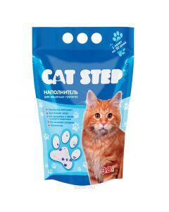 """Наполнитель для кошачьего туалета """"Cat Step"""", силикагелевый, 3,8л"""