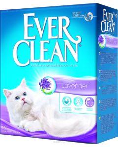 """Наполнитель для кошачьего туалета Ever Clean """"Lavander"""", комкующийся, с ароматом лаванды, 10 л"""