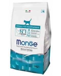 Monge Cat корм для котят c курицей