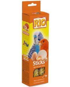 РИО Палочки для всех видов птиц с яйцом и ракушечником 2х40г