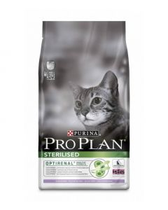Pro Plan Sterilised Cat Корм сухой c индейкой для стерилизованных кошек
