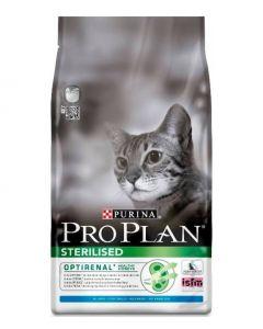 Pro Plan Корм сухой полнорационный для взрослых стерилизованных кошек и кастрированных котов, с кроликом