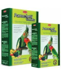 Padovan корм для средних попугаев Parrocchetti GrandMix 400г