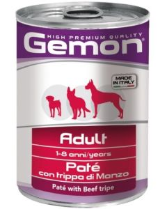 Gemon Dog консервы для собак паштет говяжий рубец