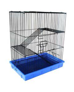 Клетка для мелких животных эмаль 55х37х64см. Triol (C1)