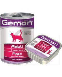 Консервы для кошек Gemon Adult Pate with Beef (говядина)