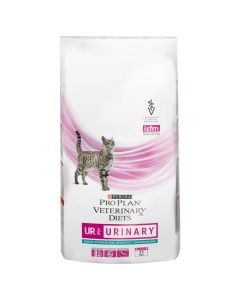 Purina Pro Plan Veterinary Diets UR Urinary with Ocean Fish Ветеринарный сухой корм для кошек при МКБ  (океаническая рыба)