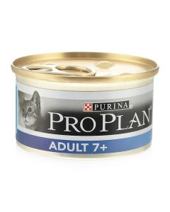 Pro Plan Adult 7+ Консервы для пожилых кошек (мясо и тунец)