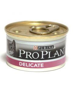 Pro Plan Delicate Консервы для кошек с чувствительным пищеварением (индейка)