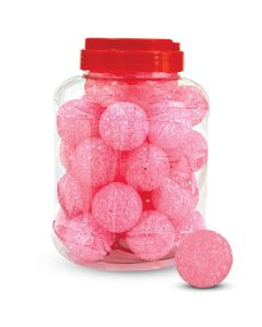 """Игрушка для кошек """"Мяч зернистый"""", розовый, диаметр 41мм(1 штука)"""