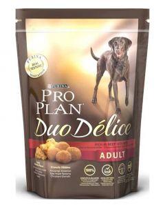 PRO PLAN DUO DÉLICE сухой полнорационный корм для взрослых собак, с говядиной и рисом