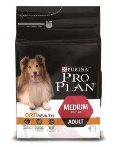 PRO PLAN dog medium adult сухой полнорационный корм для взрослых собак средних пород c высоким содержанием курицы