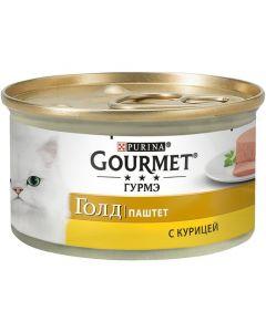 Gourmet Gold паштет для кошек с курицей, 85 г