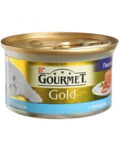 Gourmet Gold паштет для кошек с тунцом, 85 г