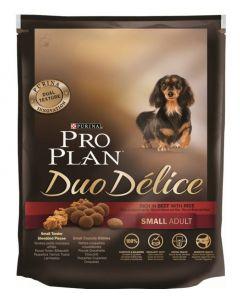 PRO PLAN duo délice сухой полнорационный корм для взрослых собак мелких и карликовых пород, с говядиной и рисом