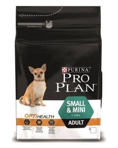 PRO PLAN сухой полнорационный корм для взрослых собак мелких и карликовых пород с курицей и рисом