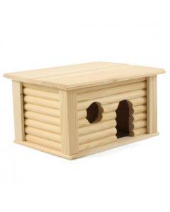 Домик с плоской крышей для грызунов Triol