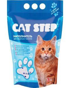 Cat Step Наполнитель силикагель 1,412кг*3л