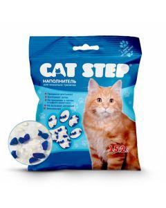 Cat Step Наполнитель силикагель 7,24 кг 15,2л