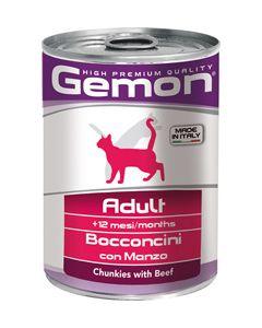 Консервы для кошек Gemon Adult Chunkies with Beef (говядина)