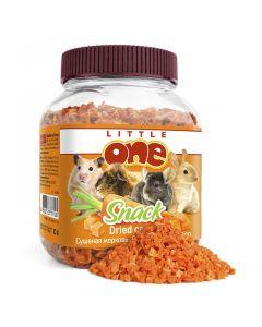 LITTLE ONE Лак-во для грызунов Сушеная морковь 200г