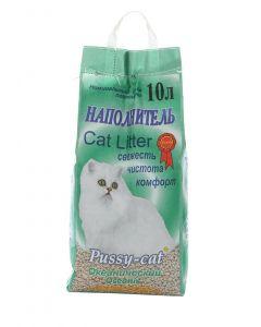 Pussy cat Наполнитель для кошачьего туалета, океанический 10л