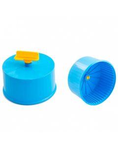 Игрушка для грызунов Колесо D90 Литое пластик полузакрытое без подставки Дарэлл